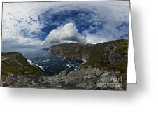 Bunglas  Highest Sea Cliffs In Europe Greeting Card