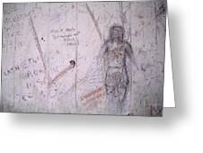 Bunker Graffiti Greeting Card