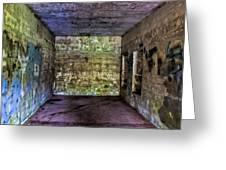 Bunker Walls Greeting Card