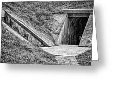 Bunkers At Foort Pulasi Greeting Card