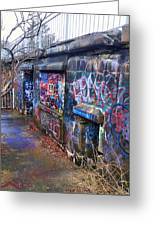 Bunkers Of Ft Wetherill Greeting Card