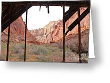 Bunkhouse View 2 Greeting Card