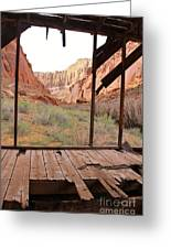 Bunkhouse View 3 Greeting Card