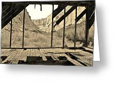 Bunkhouse View 5 Greeting Card