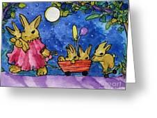Bunny Parade Greeting Card