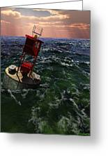 Buoy 14 Greeting Card