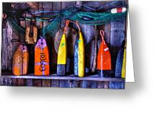 Buoys For Sale  Greeting Card