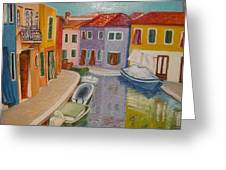 Burano Greeting Card
