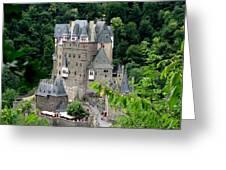 Burg Eltz Castle Greeting Card
