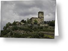 Burg Gutenfels 03 Greeting Card