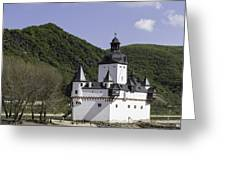 Burg Pfalzgrafenstein Squared Greeting Card