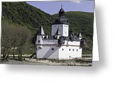 Burg Pfalzgrafenstein Greeting Card