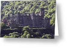 Burg Reichenstein 04 Greeting Card