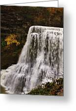 Burgess Fall Tennessee Greeting Card