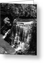 Burgess Lower Falls 2 Greeting Card