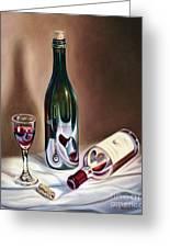 Burgundy Still Greeting Card