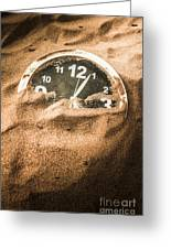 Buried In The Sands Of Time Greeting Card