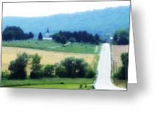 Burkittsville Maryland Greeting Card