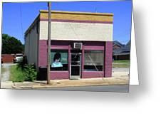 Burlington North Carolina - Small Town Business Greeting Card