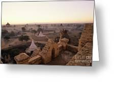 Burma Landscape Greeting Card