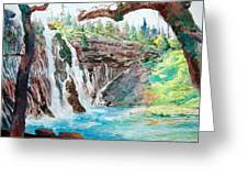Burney Falls Greeting Card