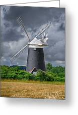 Burnham Overy Mill Greeting Card