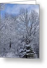 Burnidge Winter Greeting Card