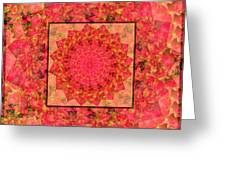 Burning Bush Floral Design  Greeting Card
