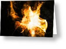 Burning Man Greeting Card