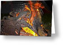 Burning Greeting Card