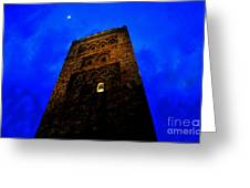 Burning The Midnight Oil Greeting Card