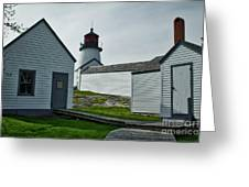 Burnt Island Light Station 1 Greeting Card