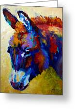 Burro II Greeting Card