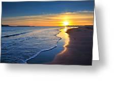 Burry Port Beach Greeting Card