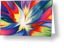 Burst Of Joy Greeting Card