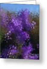 Bursting Blooms Greeting Card