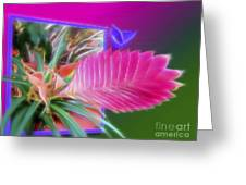 Bursting Forth In Bloom Greeting Card