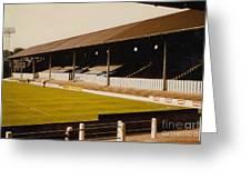 Bury - Gigg Lane - North Stand 1 - 1969 Greeting Card