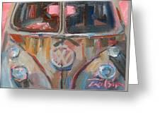 Bus-rust Greeting Card