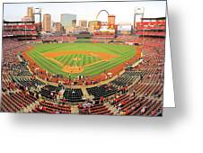 Busch Before The Game Greeting Card