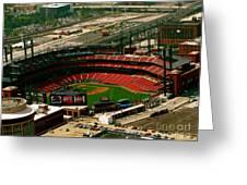 Busch Stadium Greeting Card
