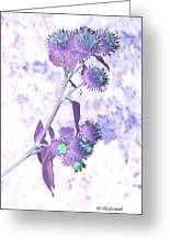 Bush Of Burdock Greeting Card