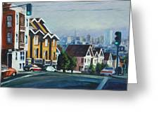 Bush Street Greeting Card
