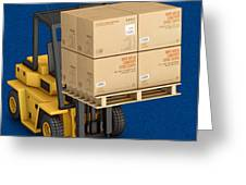 Freight Shipping Services Greeting Card