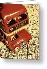 Bussing Britain Greeting Card