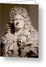 Bust Of King Louis Greeting Card