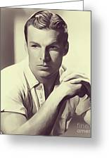 Buster Crabbe, Vintage Actor Greeting Card