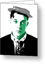 Buster Keaton Greeting Card