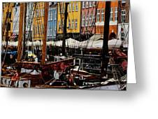 Busy Nyhavn Greeting Card
