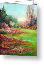 Butchart Garden Greeting Card